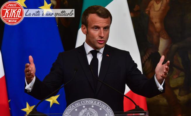 Emmanuel Macron - Roma - 18-09-2019 - Emmanuel Macron positivo al Coronavirus. I politici contagiati