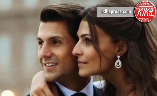 Marco Roscio, Cristina Chiabotto - Torino - 25-09-2019 - Cristina Chiabotto & co: gli abiti da sposa più belli delle star