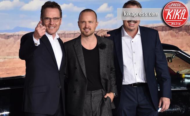 Vince Gilligan, Aaron Paul, Bryan Cranston - Westwood - 07-10-2019 - El Camino, alla premiere si ricompone il mondo Breaking Bad