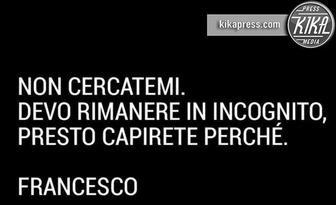 Francesco Totti - 09-10-2019 - Le celebrity sono sparite da Instagram! Ecco perché...