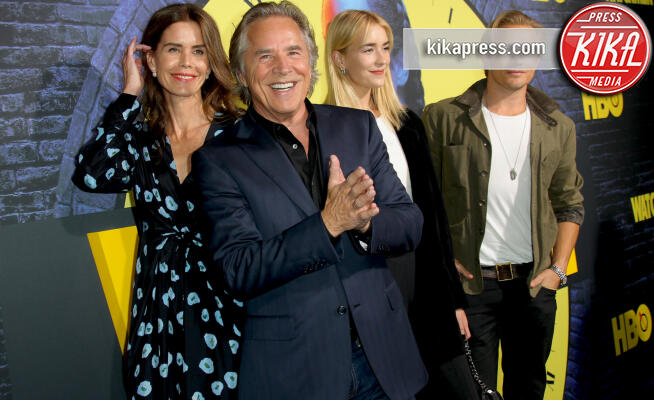Grace Johnson, Jesse Johnson, Kelley Phleger, Don Johnson - Los Angeles - 15-10-2019 - Settantenni da favola, da Don Johnson a Jeff Bridges
