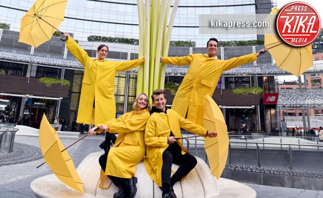 Singin' in the rain - Milano - 18-10-2019 - Singing' in the rain, un flash mob per lanciare il musical