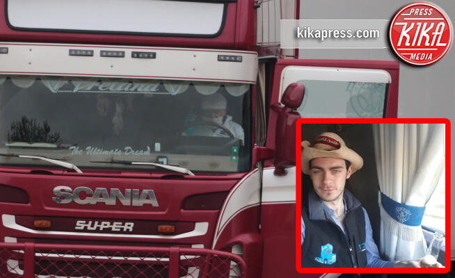 Mo Robinson, Camion a rimorchio, Waterglade Industrial Park - 23-10-2019 - 39 morti in un container,la tragedia che sconvolge l'Inghilterra
