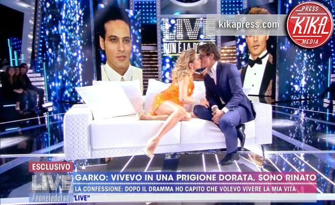 Barbara D'Urso, Gabriel Garko - Milano - 12-11-2019 - Barbara D'Urso show, il bacio sulle labbra di Gabriel Garko