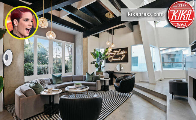 Casa Halsey - Hollywood - 13-11-2019 - Halsey, la sua villa tutta design e modernità