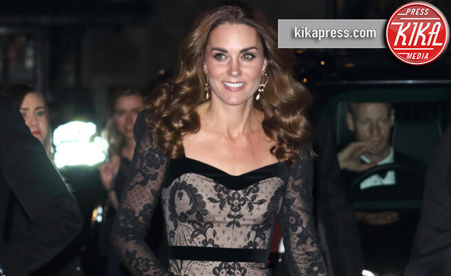 Principe William, Kate Middleton - Londra - 18-11-2019 - Kate Middleton bellissima in Alexander McQueen