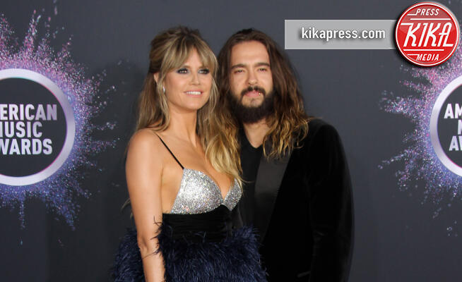 Tom Kaulitz, Heidi Klum - Los Angeles - 24-11-2019 - American Music Awards 2019: gli arrivi sul red carpet