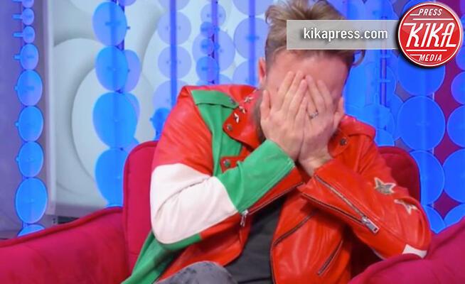 Francesco Facchinetti - 27-11-2019 - Francesco Facchinetti in lacrime da Caterina Balivo