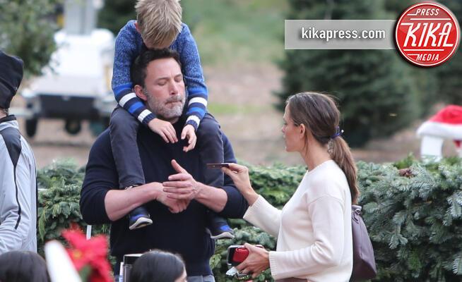 Samuel Affleck, Jennifer Garner, Ben Affleck - Palisades - 01-12-2019 - C'è molta tensione sotto l'albero di casa Garner