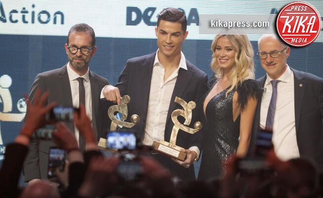 Diletta Leotta, Cristiano Ronaldo - Milano - 03-12-2019 - Gran Galà del Calcio: Cristiano Ronaldo è il miglior giocatore