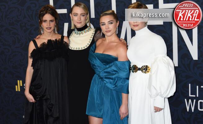 Eliza Scanlen, Florence Pugh, Saoirse Ronan, Emma Watson - New York - 07-12-2019 - Greta Gerwig riporta al cinema le Piccole Donne