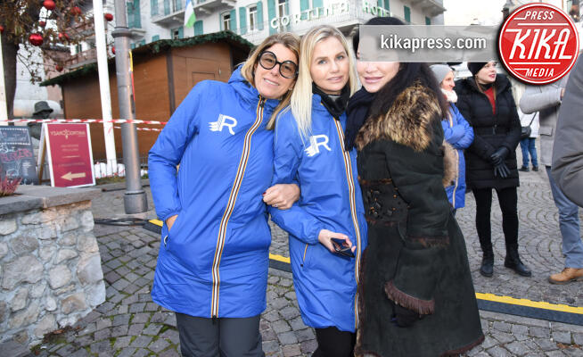 Demetra Hampton, Roberta Beta - Cortina - 09-12-2019 - Cortina Fashion Weekend, lo star system trasloca sulle Dolomiti