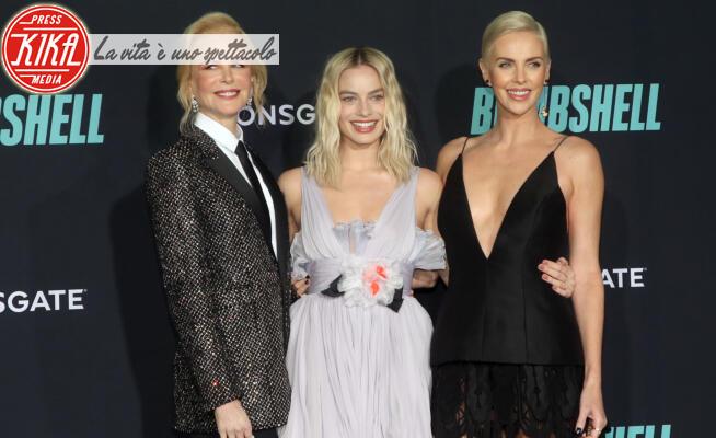 Margot Robbie, Charlize Theron, Nicole Kidman - Los Angeles - 12-12-2019 - Theron, Robbie, Kidman: Bombshell cala il tris di regine