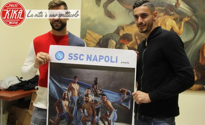 Alex Meret, Fernando Llorente - Napoli - 13-12-2019 - SSC Napoli, un calendario 2020 ad alto tasso di testosterone