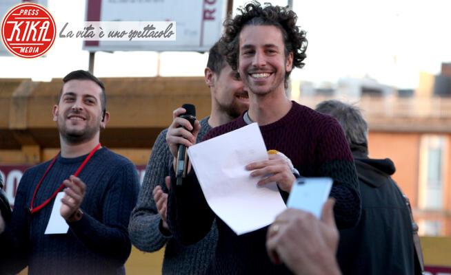 Mattia Santori, Sardine - Roma - 14-12-2019 - Mattia Sartori e le Sardine riempiono Piazza San Giovanni a Roma