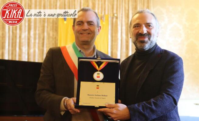 Stefano Bollani, Luigi De Magistris - Napoli - 30-12-2019 - Stefano Bollani è cittadino onorario di Napoli