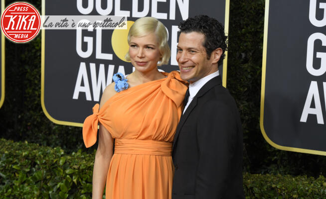 Thomas Kail, Michelle Williams - Beverly Hills - 05-01-2020 - Golden Globes 2020, le coppie sul red carpet