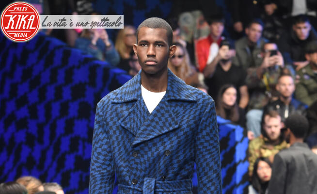 sfilata Marcelo Burlon, Modello - Milano - 11-01-2020 - Milano Moda Uomo: la sfilata di  Marcelo Burlon