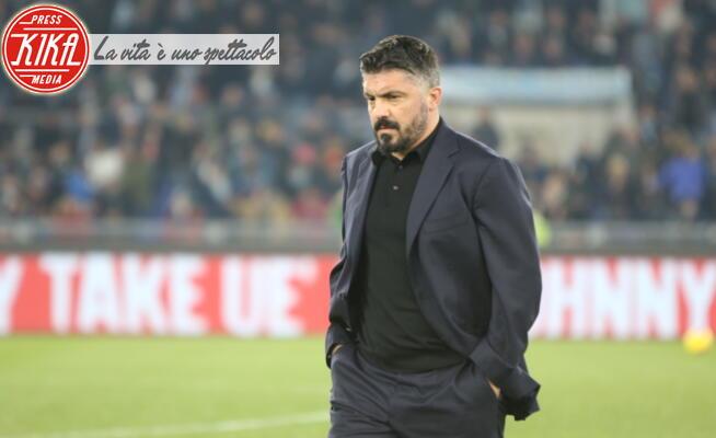 Gennaro Gattuso - Roma - 11-01-2020 - La Lazio e Ciro Immobile puniscono Gattuso: 1-0 al Napoli
