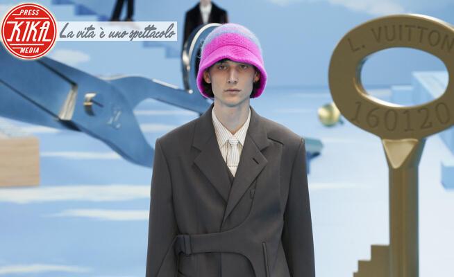 Sfilata Louis Vuitton, Model - Parigi - 16-01-2020 - Paris Fashion Week Men: la sfilata Louis Vuitton