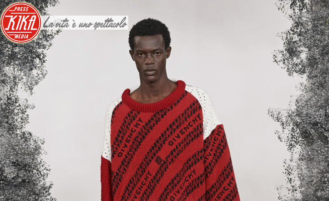 Sfilata Givenchy, Model - Parigi - 16-01-2020 - Paris Fashion Week Men: la sfilata Givenchy