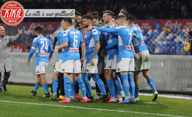Esultanza SSC NAPOLI - Napoli - 26-01-2020 - Il Napoli batte la Juve e rivede la luce