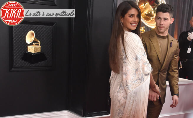 Priyanka Chopra, Nick Jonas - Los Angeles - 26-01-2020 - Grammy Awards 2020, le coppie sul red carpet