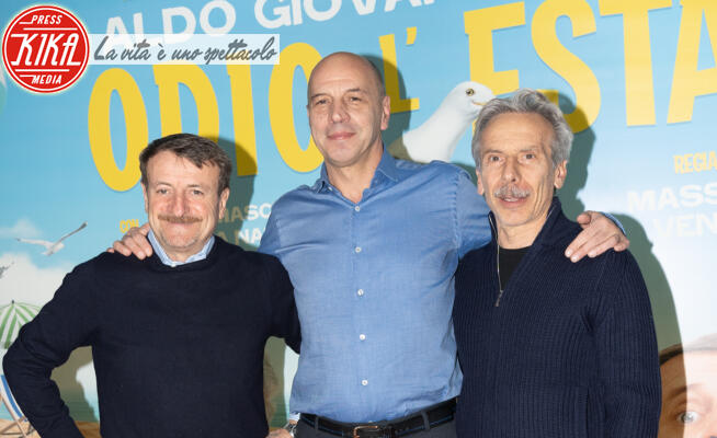 Giacomo Poretti, Giovanni Storti, Aldo Baglio - Roma - 27-01-2020 - Aldo, Giovanni e Giacomo: Odio l'estate... anche di sera!