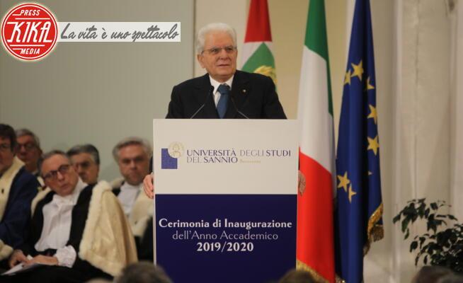 Sergio Mattarella - Sant'Agata De' Goti - 28-01-2020 - Mattarella inaugura l'anno accademico dell'Università di Sannio