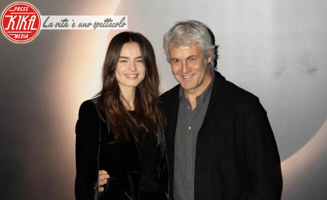 Kasia Smutniak, Domenico Procacci - Roma - 28-01-2020 - Luna Nera: Kasia Smutniak e Domenico Procacci sul black carpet