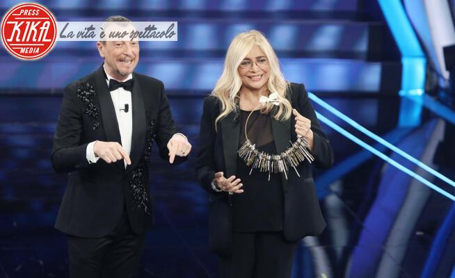 Amadeus, Mara Venier - Sanremo - 08-02-2020 - Sanremo 2020: le immagini della serata finale