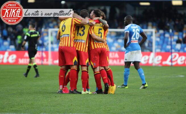 Esultanza U.S. Lecce - Napoli - 09-02-2020 - Il Napoli affonda, Lecce corsaro al San Paolo