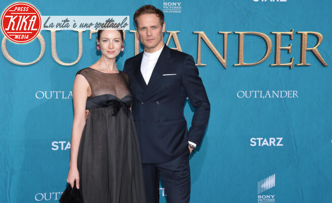 Caitriona Balfe, Sam Heughan - Hollywood - 14-02-2020 - Outlander: il duo Heughan-Balfe ci conduce nella quinta stagione