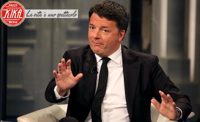 Matteo Renzi - Roma - 19-02-2020 - Matteo Renzi a Porta a Porta: