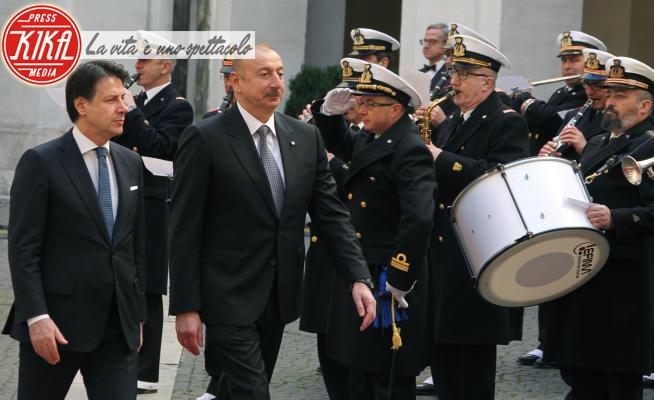 Ilham Aliyev, Giuseppe Conte - Roma - 20-02-2020 - Conte-Ilham Aliyev, l'incontro a Palazzo Chigi