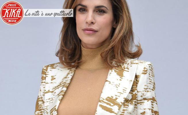 Elisabetta Canalis - Milano - 20-02-2020 - MFW: la più sexy nel backstage? Elisabetta Canalis da Max Mara