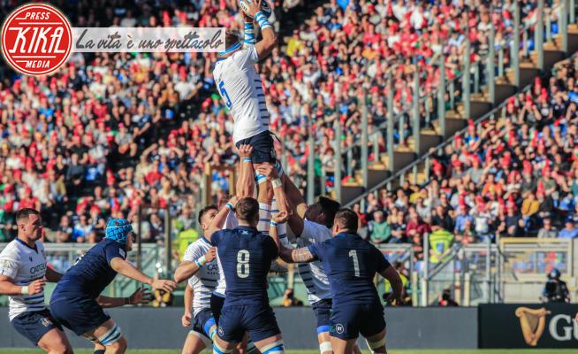 Italia-Scozia - Roma - 22-02-2020 - Rugby, al Sei Nazioni l'Italia cede alla Scozia 17-0