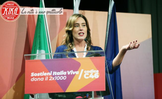 Maria Elena Boschi - Roma - 22-02-2020 - Italia Viva, all'assemblea c'è anche la compagna di Enzo Tortora