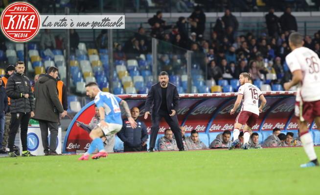 Rino Gattuso - Napoli - 29-02-2020 - Il Napoli torna in zona Europa, Torino battuto 2 a 1