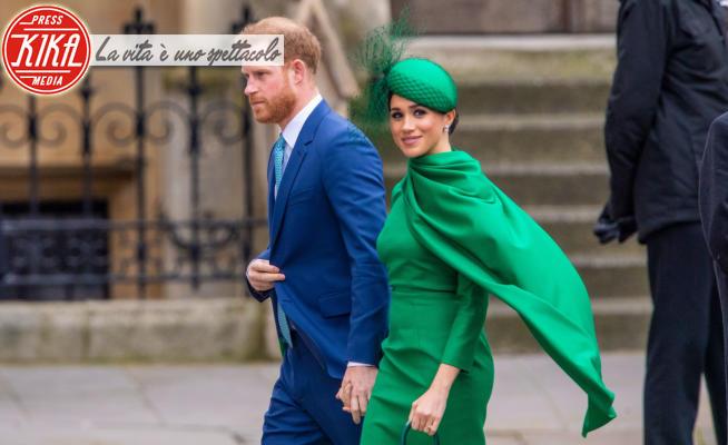 Meghan Markle, Principe Harry - Londra - 09-03-2020 - Harry e Meghan contro la BBC per Lilibet: minacciano querela
