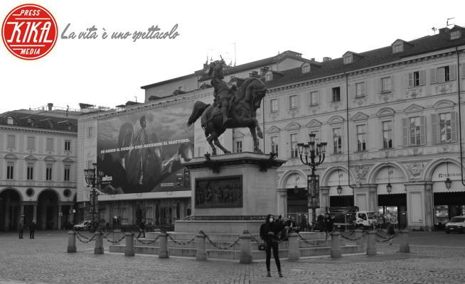 Torino - Torino - 11-03-2020 - Coronavirus: Italia zona rossa, Torino deserta in lockdown