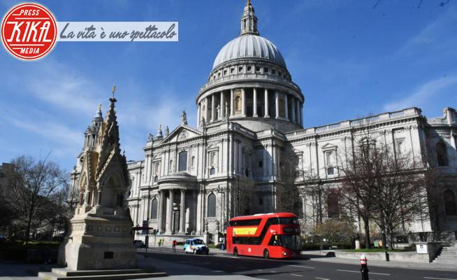 St. Paul's Cathedral, Londra, London - Londra - 23-03-2020 - Londra, irreale città fantasma per il Coronavirus