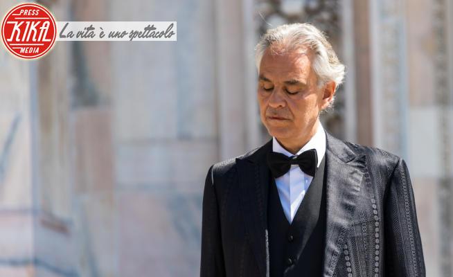 Andrea Bocelli - Milano - 12-04-2020 - Andrea Bocelli: