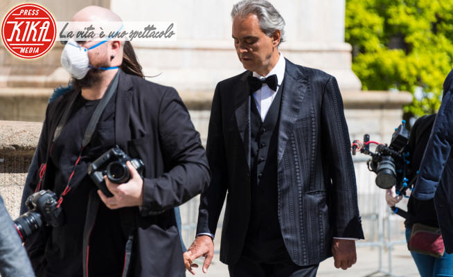 Andrea Bocelli - Milano - 12-04-2020 - Andrea Bocelli shock sul coronavirus: la risposta di Fedez