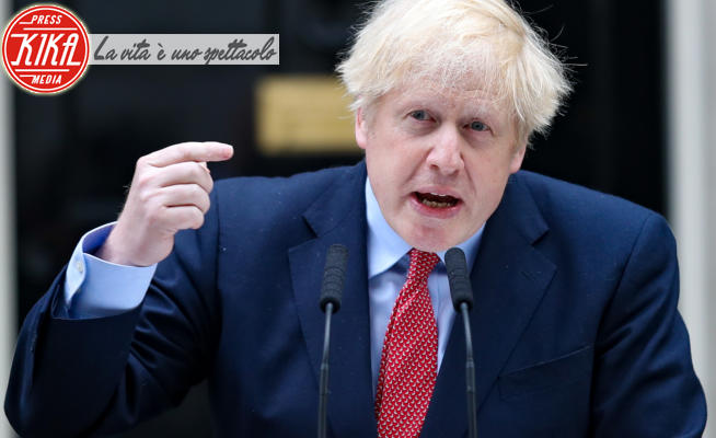 Boris Johnson - Londra - 27-04-2020 - Coronavirus, Boris Johnson è tornato al lavoro un mese dopo
