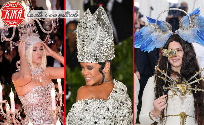 Lana Del Rey, Katy Perry, Rihanna - 05-05-2020 - Nostalgia dei Met gala? Rivediamo i look più stravaganti
