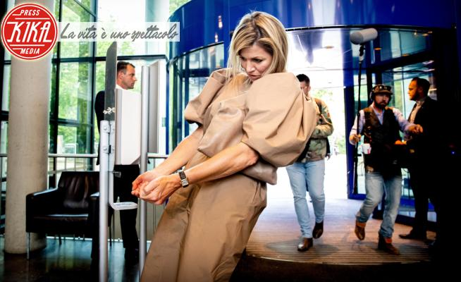 Máxima Zorreguieta Regina d'Olanda - Amsterdam - 26-05-2020 - Reali a lezione: questa volta il protocollo lo detta il Covid-19