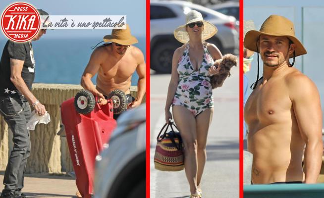 Keith Hudson, Katy Perry, Orlando Bloom - 28-05-2020 - Orlando Bloom e Katy Perry, vacanze a Santa Barbara dai suoceri
