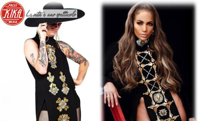 Achille Lauro, Jennifer Lopez - 12-06-2020 - Achille Lauro e Jennifer Lopez: chi lo indossa meglio?