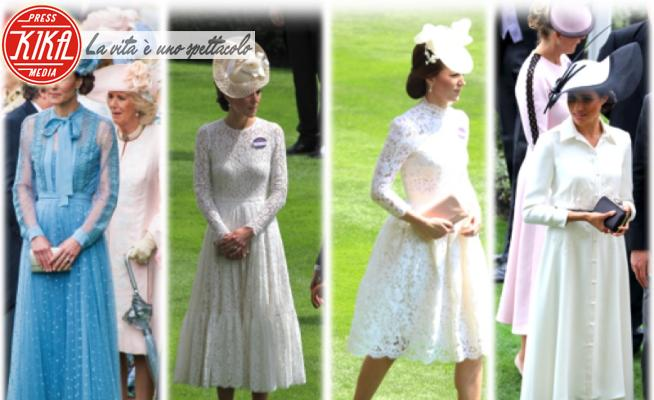 Meghan Markle, Kate Middleton - Ascot - 17-06-2020 - Royal Ascot: Kate e Meghan, i look più belli